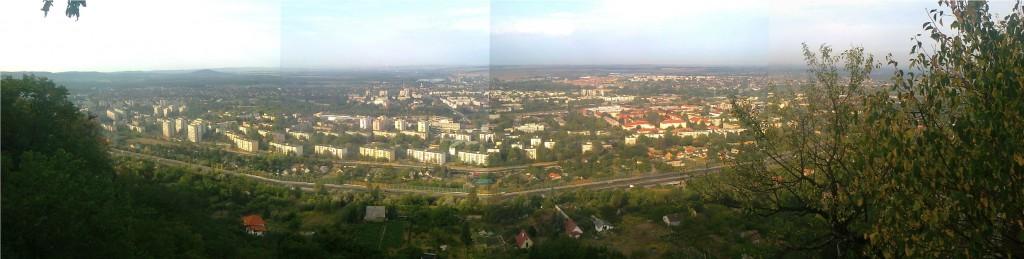 Blick auf Tatabánya (Ungarn)